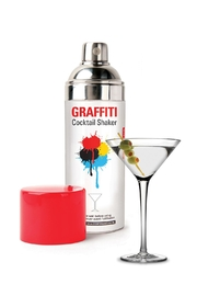 Kikkerland Design Graffiti Cocktail Shaker - Product Mini Image