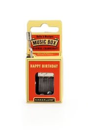 Kikkerland Design Happy Birthday Music Box - Product Mini Image
