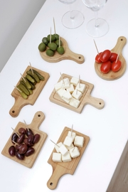 Kikkerland Design Mini Serving Trays - Front full body