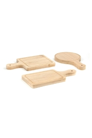 Kikkerland Design Mini Serving Trays - Front cropped