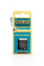 Kikkerland Design Over Rainbow Music Box - Product Mini Image