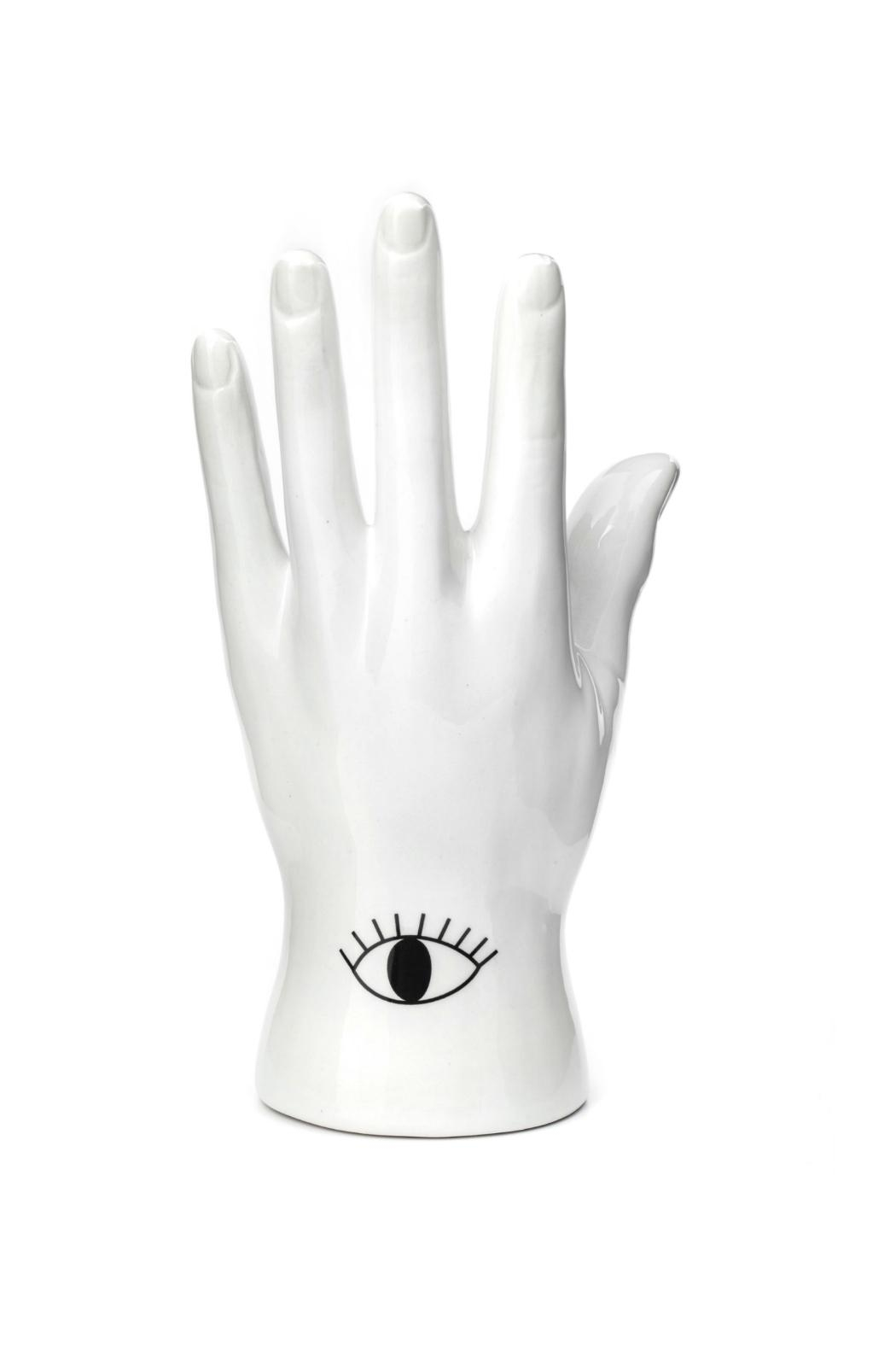 Kikkerland Design Palmistry Jewelry Stand - Front Full Image