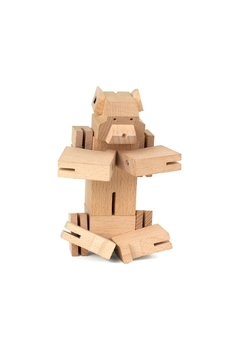 Kikkerland Design Square Bear Puzzle - Product List Image
