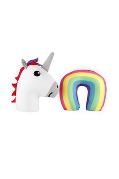 Kikkerland Design Unicorn Zip Flip Pillow - Product List Image