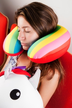 Kikkerland Design Unicorn Zip Flip Pillow - Alternate List Image