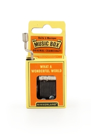 Kikkerland Design Wonderful World Music Box - Product Mini Image