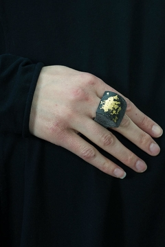 Shoptiques Product: Curved Horn Ring