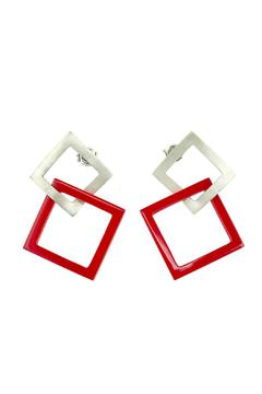 Shoptiques Product: Square Earrings