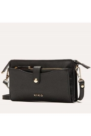 Kiko Leather Black Leather Crossbody - Product Mini Image