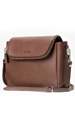 Kiko Leather Brown Leather Fold-Over - Product List Image