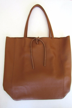 Shoptiques Product: Camel Leather Tote