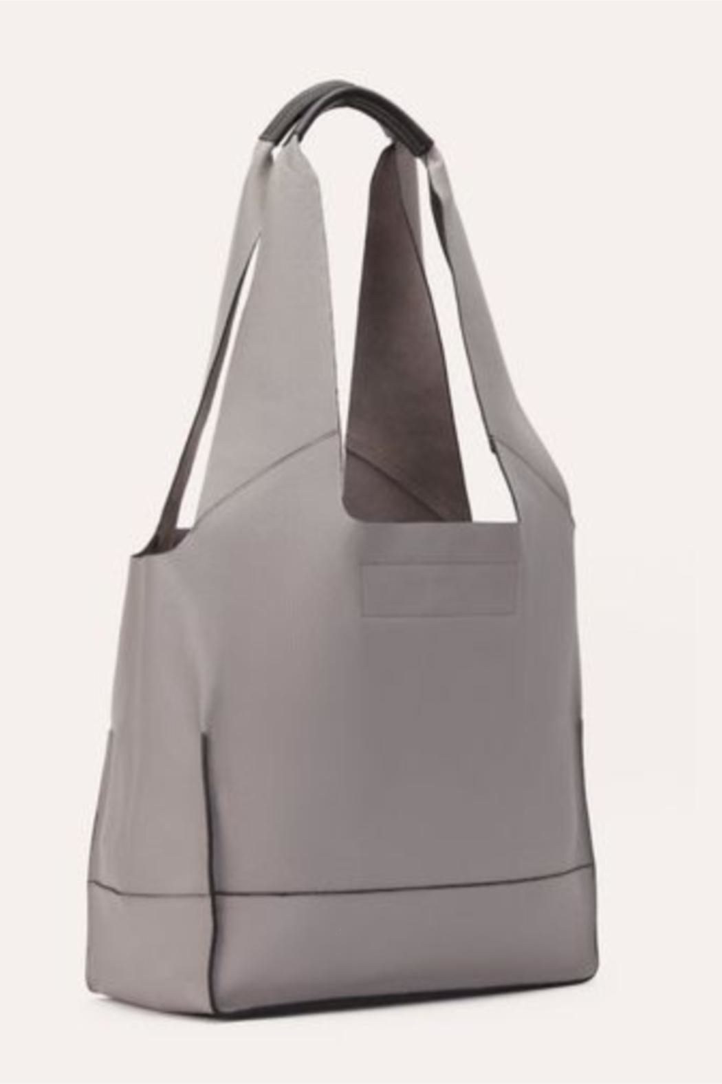 Kiko Leather Modern Leather Tote - Front Cropped Image