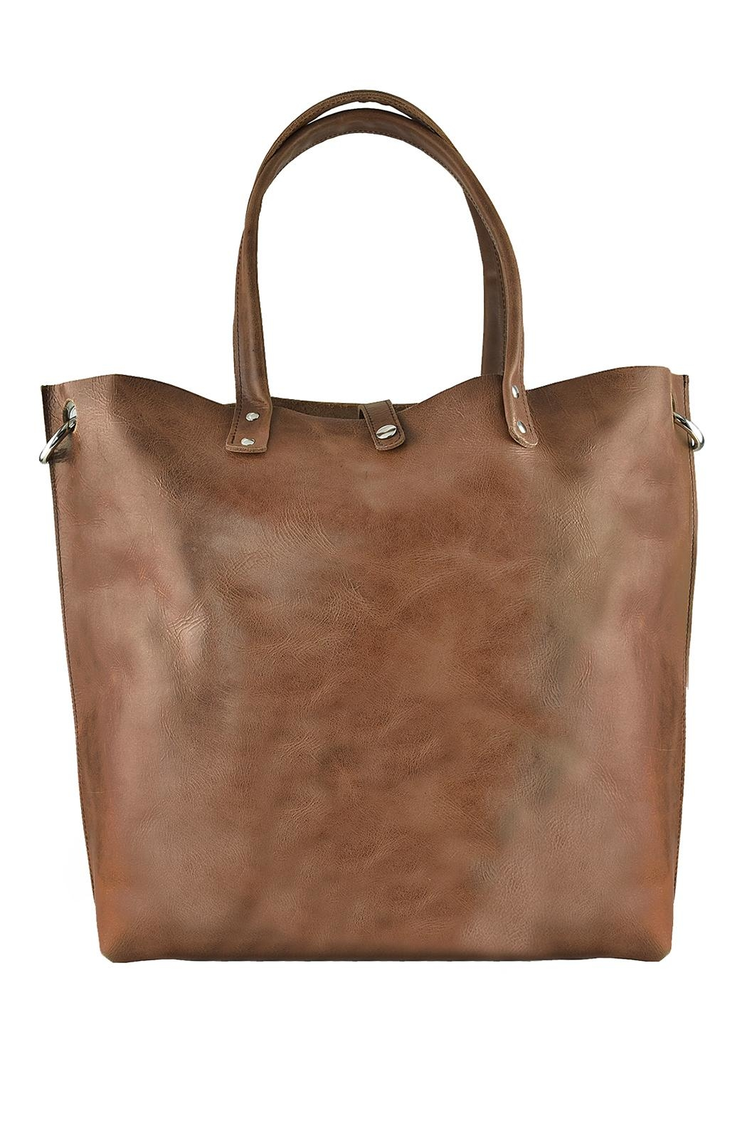 Kiko Leather Paseo Tote Bag - Front Cropped Image