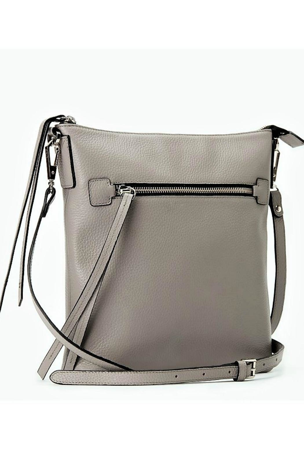 Kiko Leather Pebble Leather Crossbody - Front Cropped Image