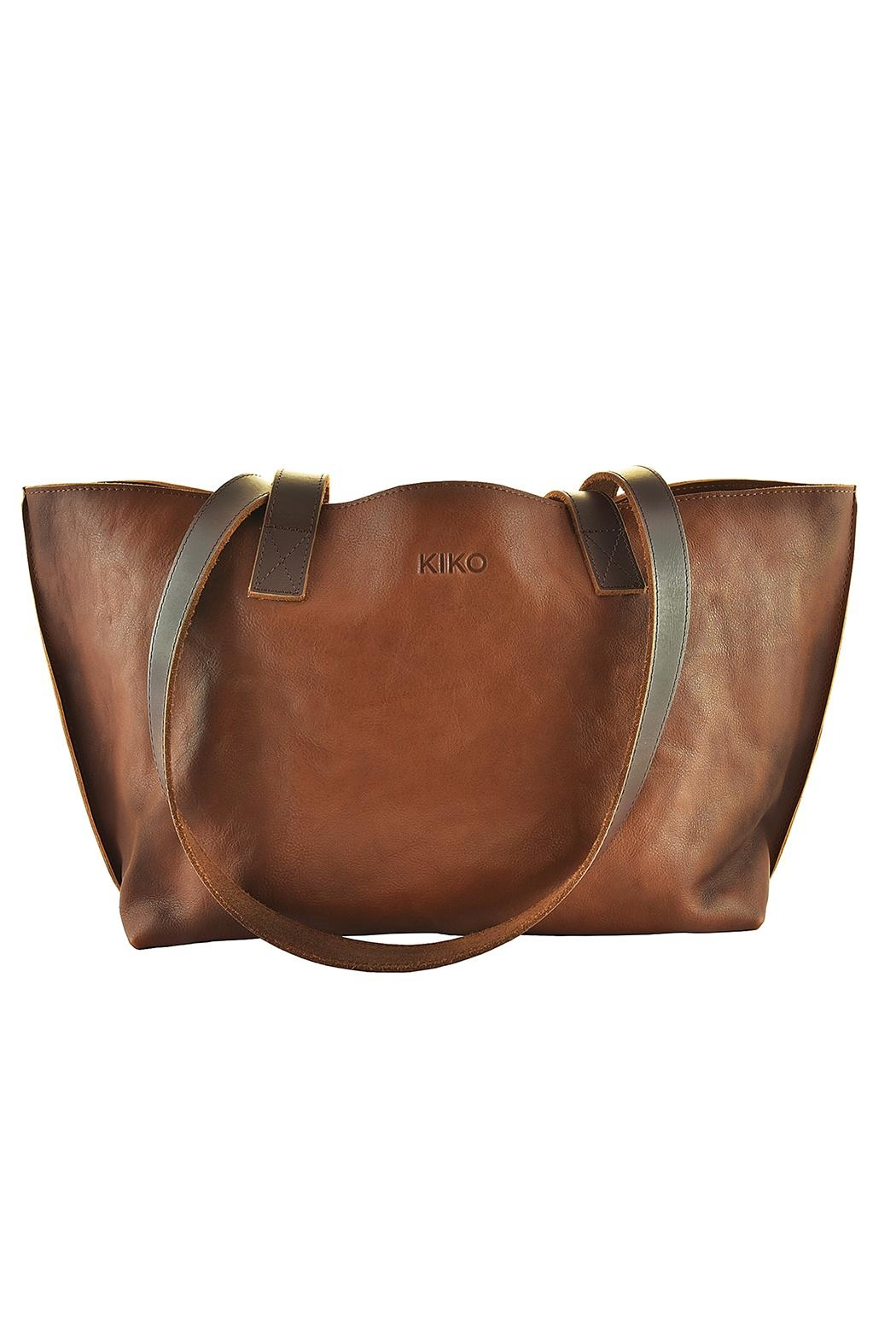 Kiko Leather Perfect Tote Bag - Front Cropped Image