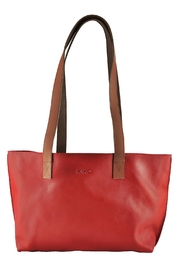 Kiko Leather Perfect Tote Bag - Front cropped