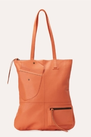 Kiko Leather Slim Leather Tote - Front cropped