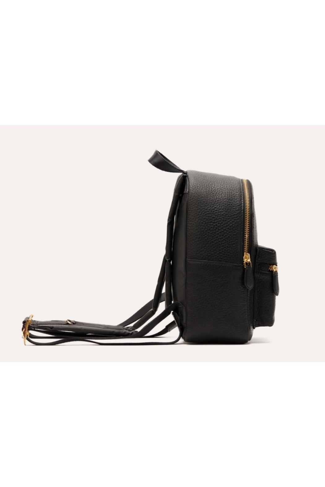 Kiko Leather Small Backpack Purse - Front Full Image