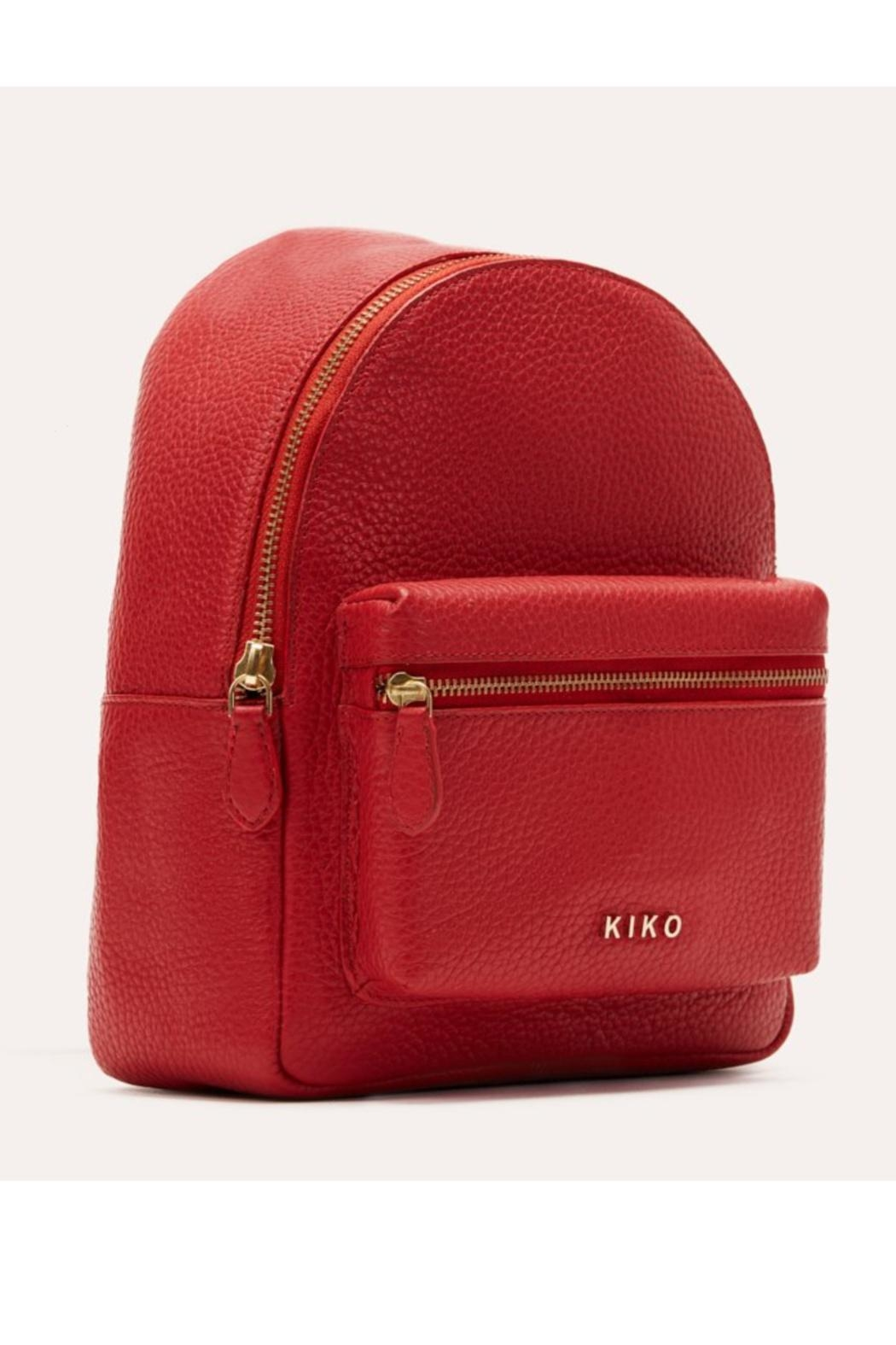 Kiko Leather Small Backpack Purse - Front Cropped Image