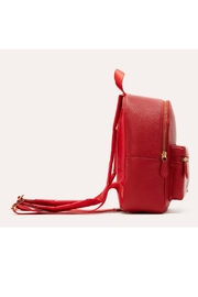 Kiko Leather Small Backpack Purse - Front full body