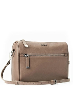 Kiko Leather Taupe Leather Perfect-Crossbody - Product List Image