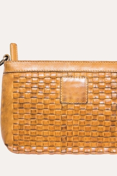 Kiko Leather Woven Leather Crossbody Purse - Alternate List Image