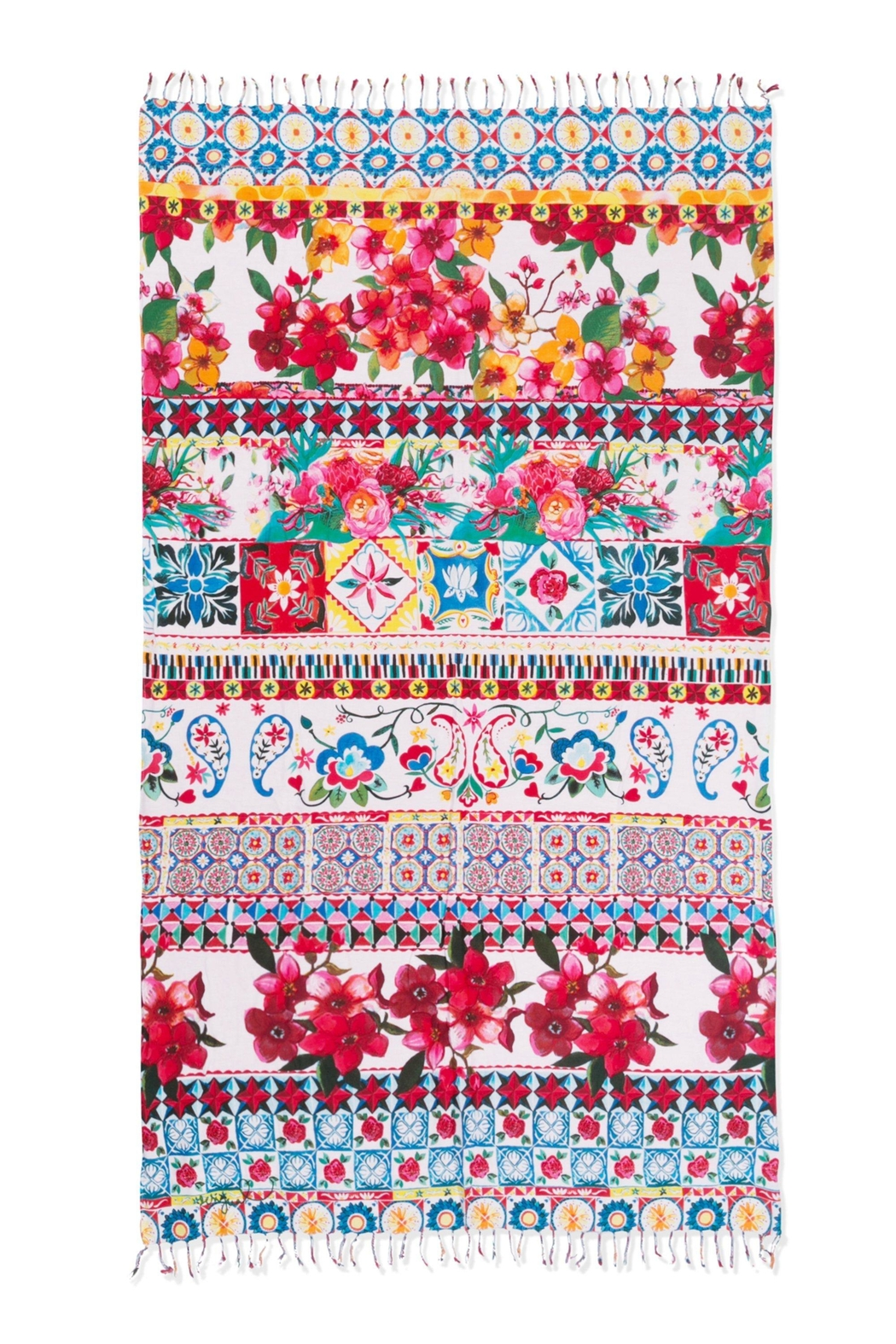 DESIGUAL Kikoy Beach Blanket - Front Cropped Image