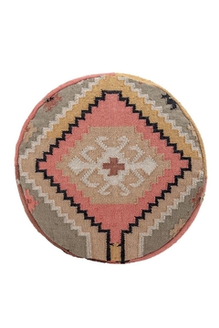 Bloomingville Kilim Hand Woven Pouf - Alternate List Image