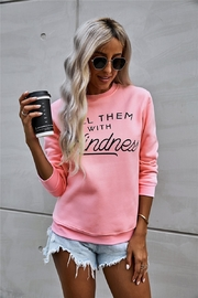 Lyn -Maree's Kill then with Kindness Crewneck - Product Mini Image