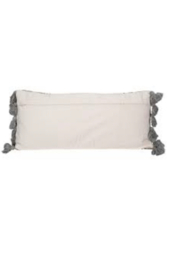Creative Co-Op Killim Bolster Pillow - Side cropped