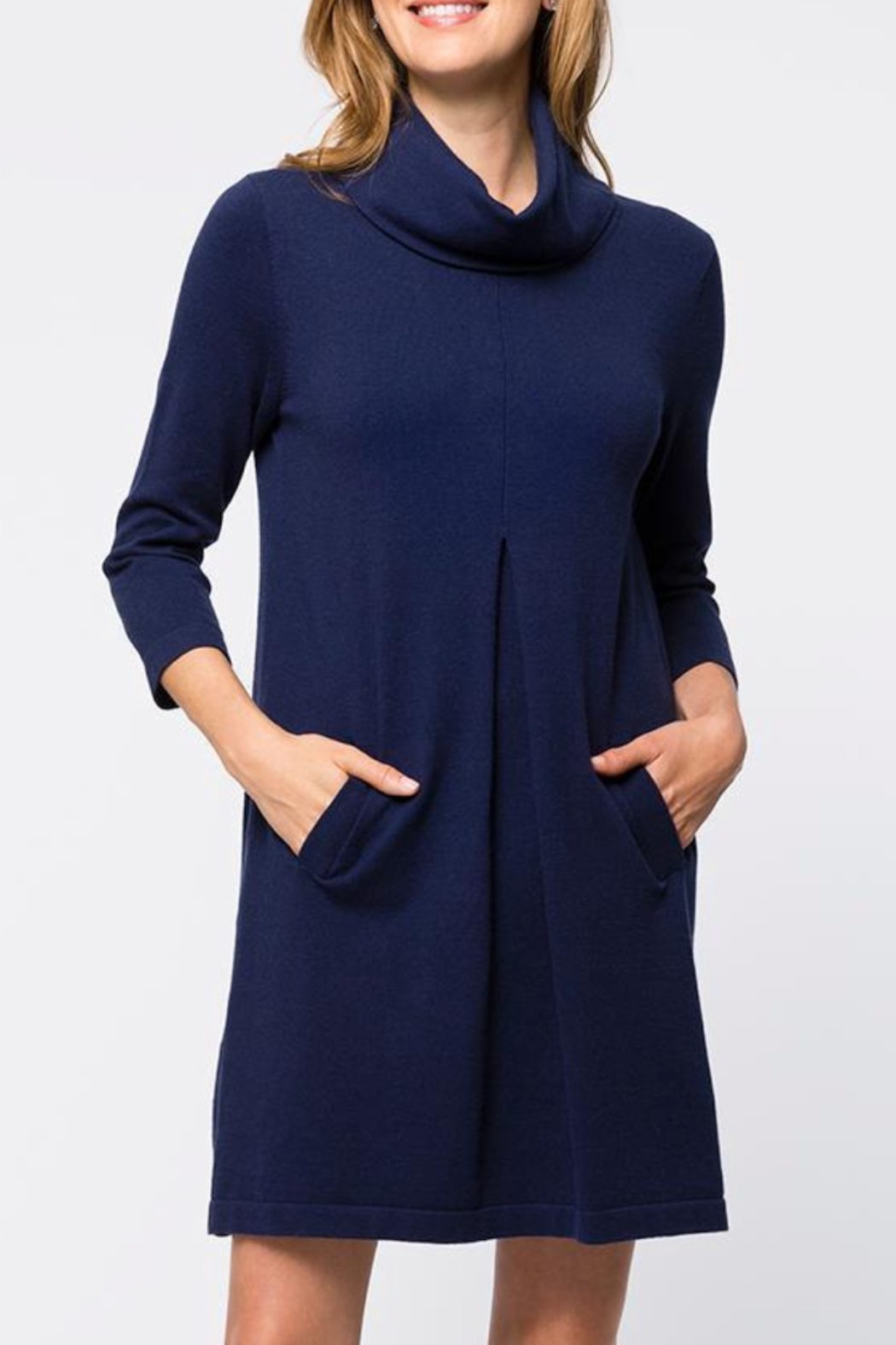 Tyler Boe Kim Cotton/Cashmere Dress - Front Cropped Image