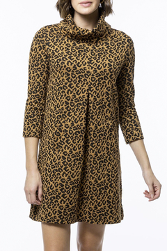Tyler Boe Kim Jacquard Dress - Cheetah - Product List Image