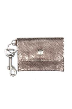 Shoptiques Product: Leather Coin Purse Keychain