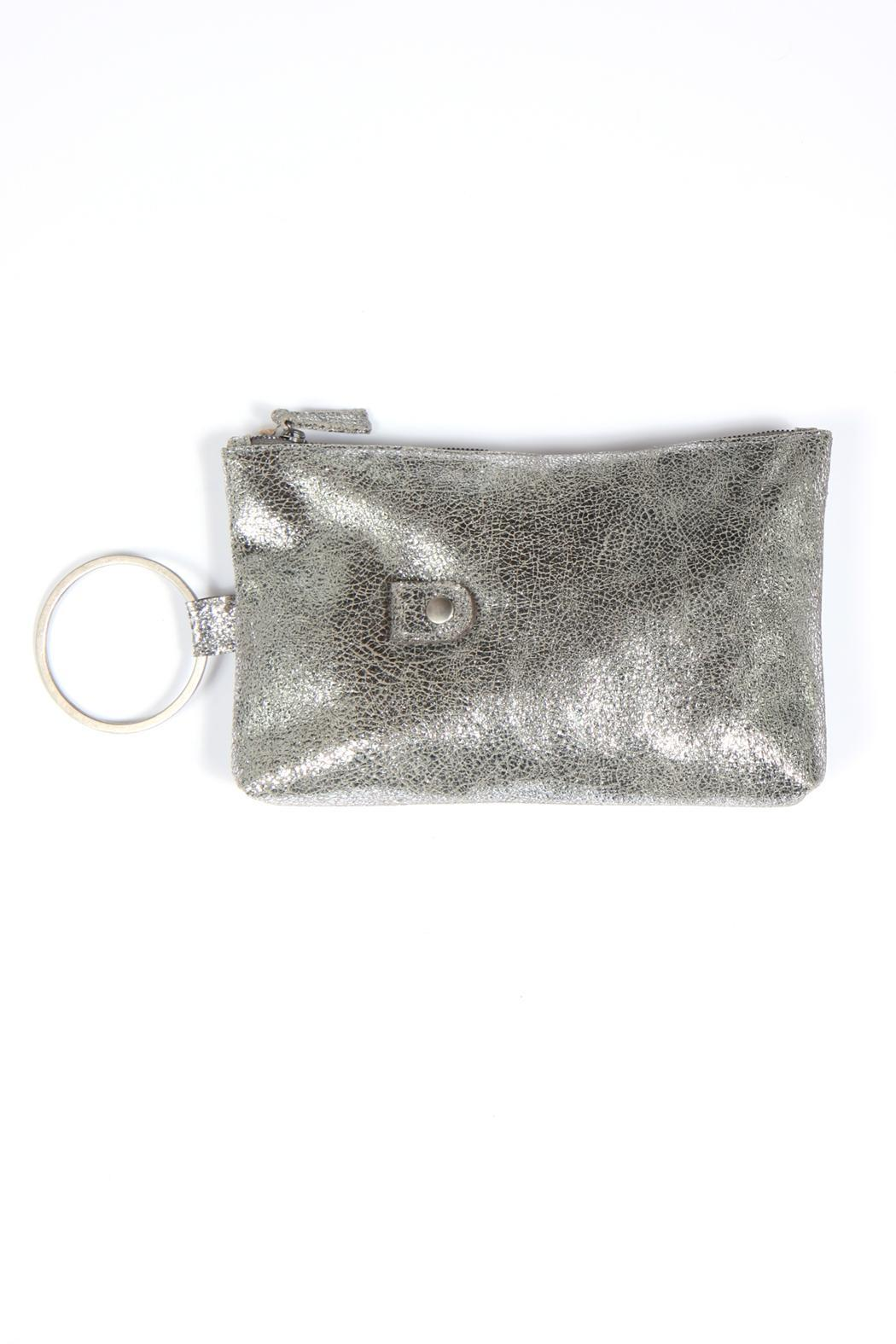 Kim White Ring Clutch - Front Full Image