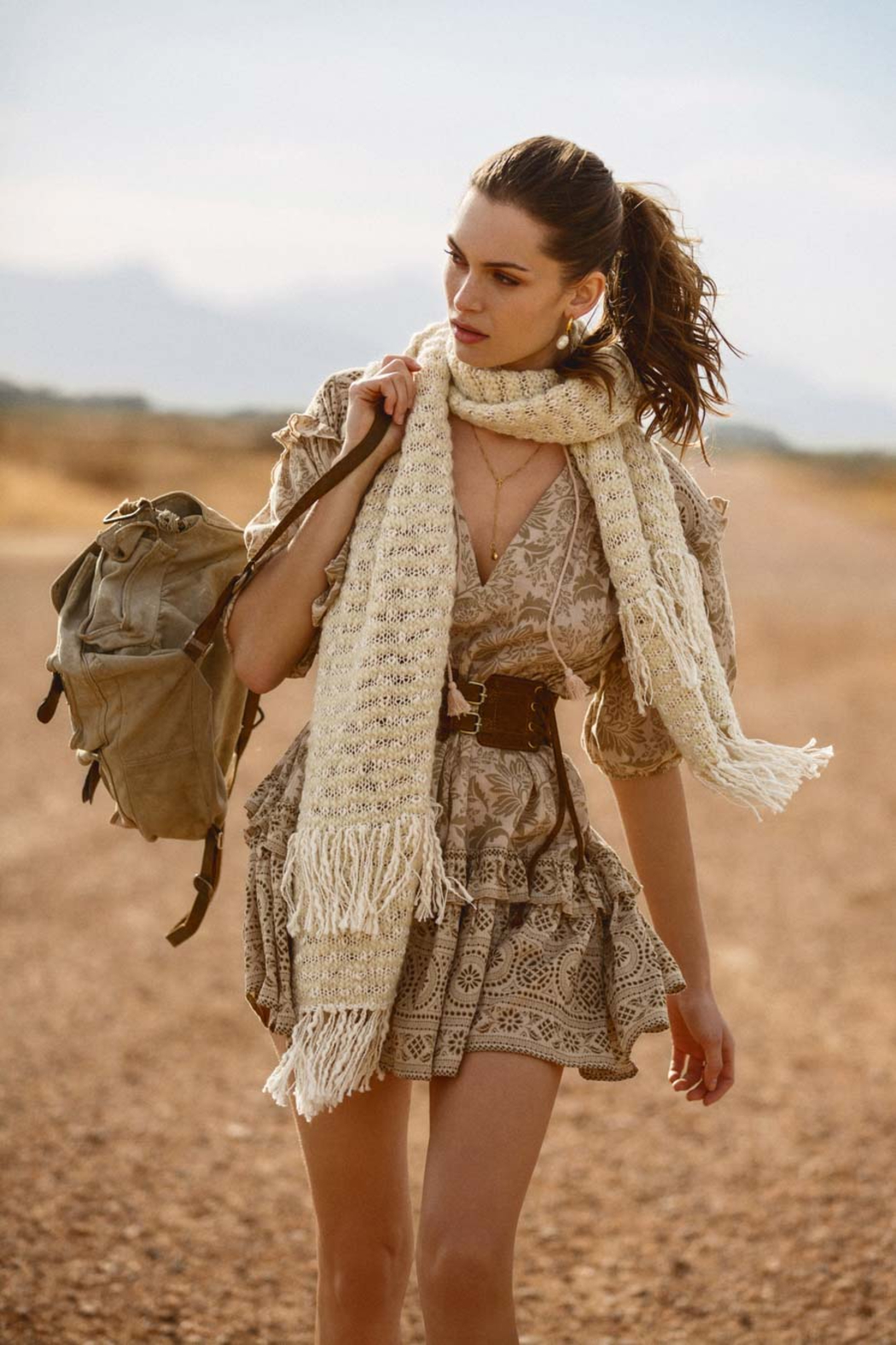 Spell & the Gypsy Collective Kimba Scarf - Front Full Image