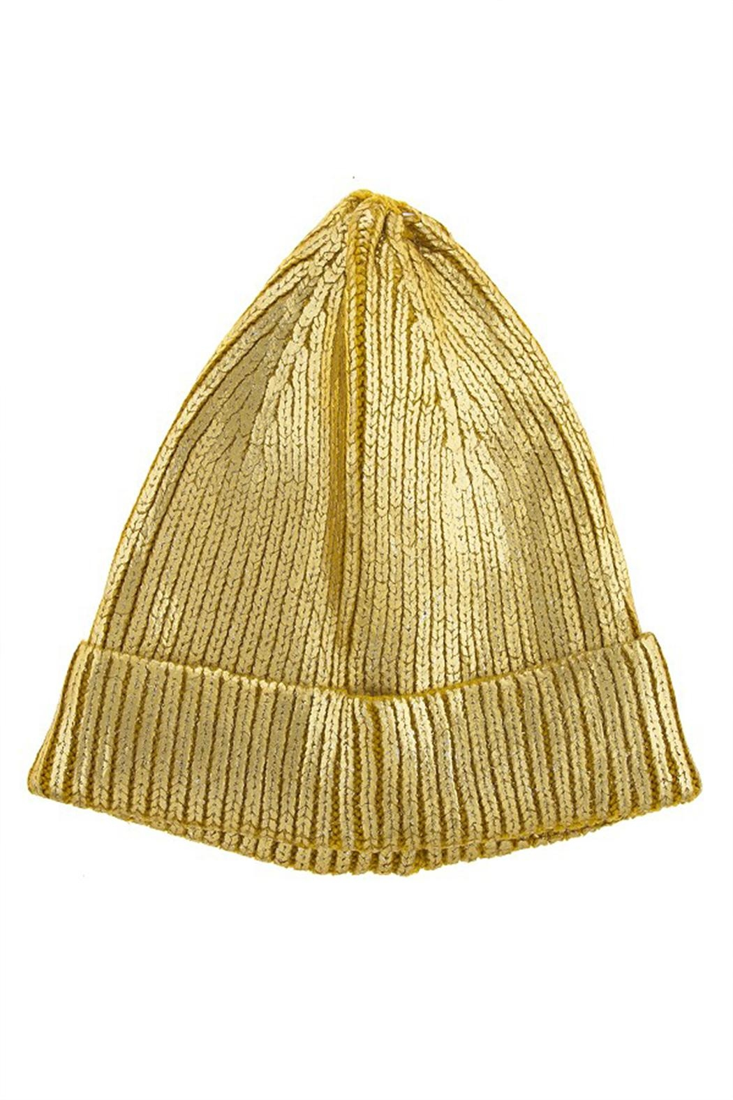 Kimberly C. Metallic Beanie - Main Image