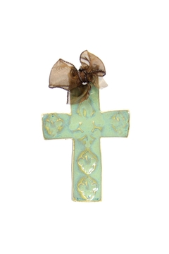 Kimberly Lang Hurricane-Cross Medium-Texture Turquoise - Product List Image