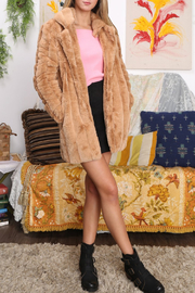 MinkPink Kimbra Faux Fur Jacket - Product Mini Image