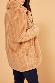 MinkPink Kimbra Faux Fur Jacket - Other
