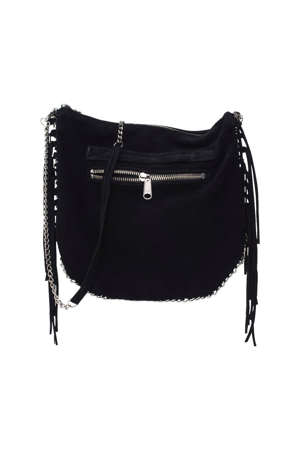 KIMDER Fringe Messenger Bag - Main Image
