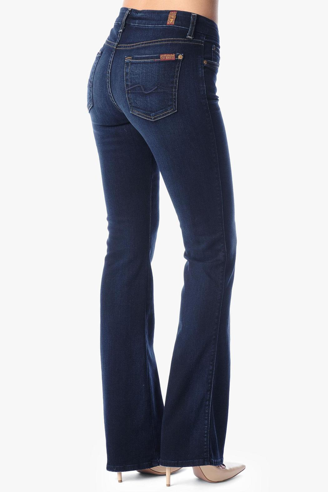 7 For all Mankind Kimmie Bootcut Merci-Blue - Front Full Image