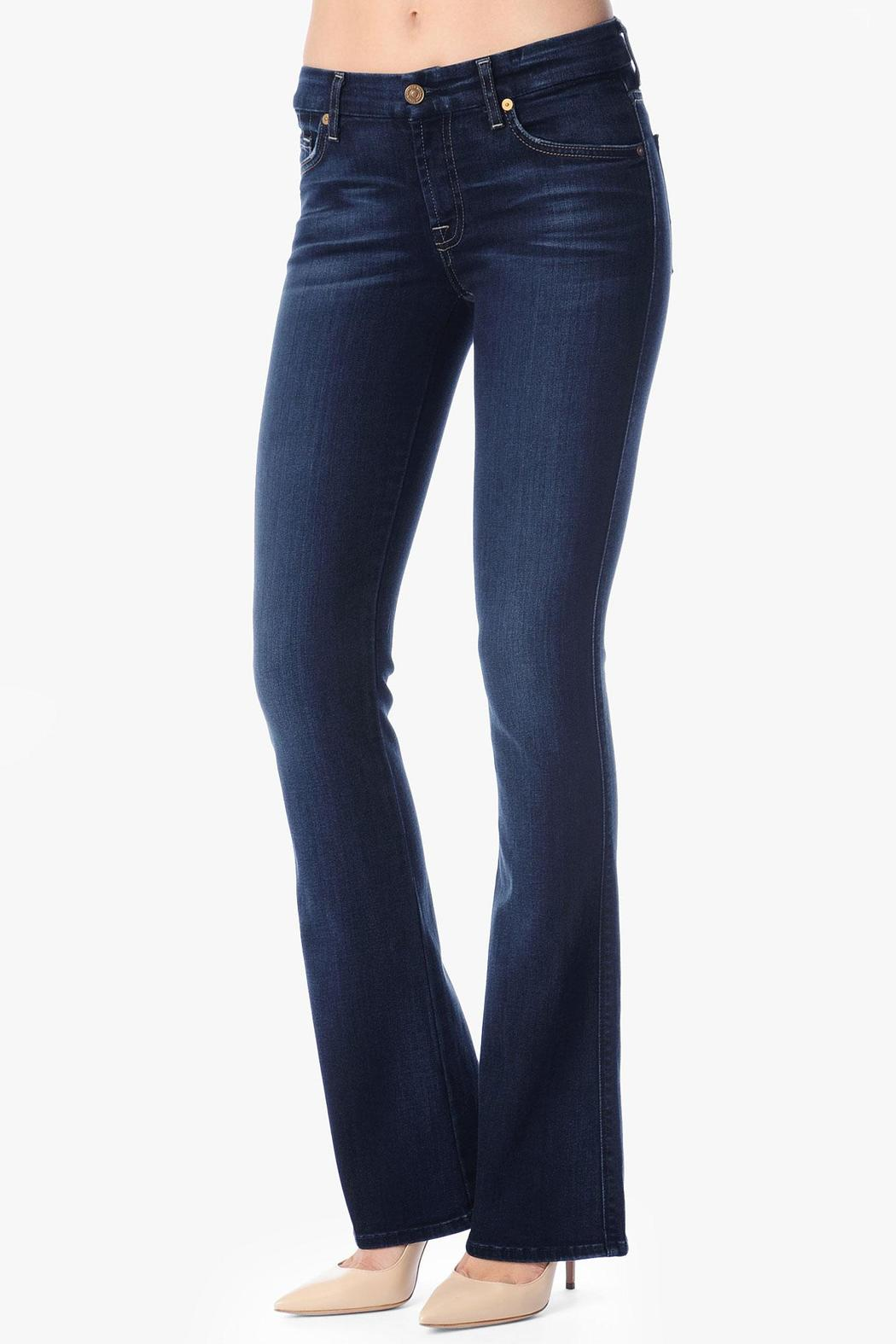 7 For all Mankind Kimmie Bootcut Merci-Blue - Main Image
