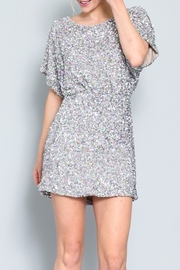 AAKAA Kimono Sleeve Sequin Dress - Product Mini Image