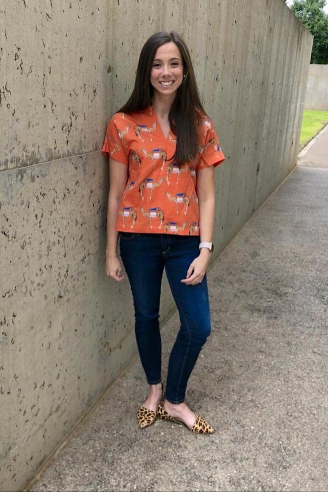 Brooke Wright Designs Kimono Top - Front Cropped Image
