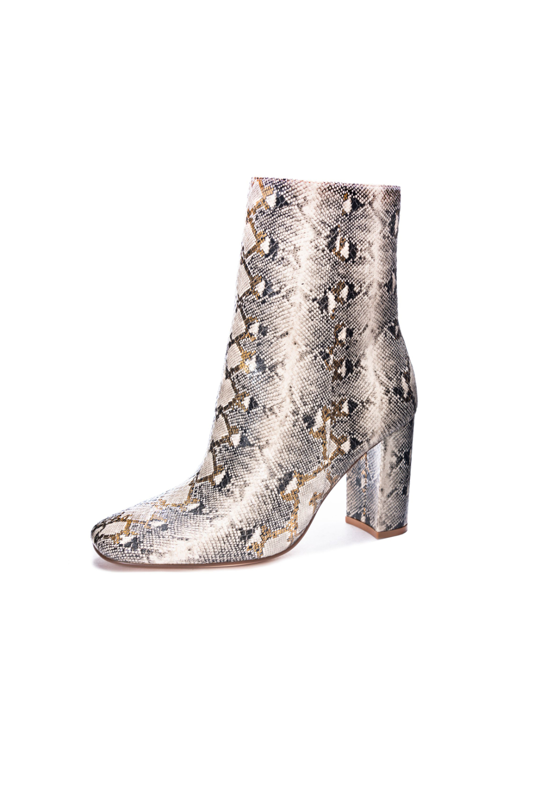 Chinese Laundry Kind Quirky Snake Bootie - Front Full Image