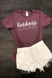 OCEAN & 7TH Kindness Graphic T-Shirt - Front cropped
