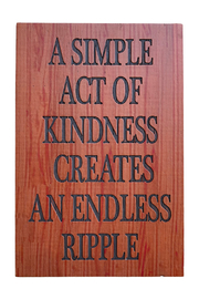 Ganz Kindness Natural Thoughts Plaque - Product Mini Image