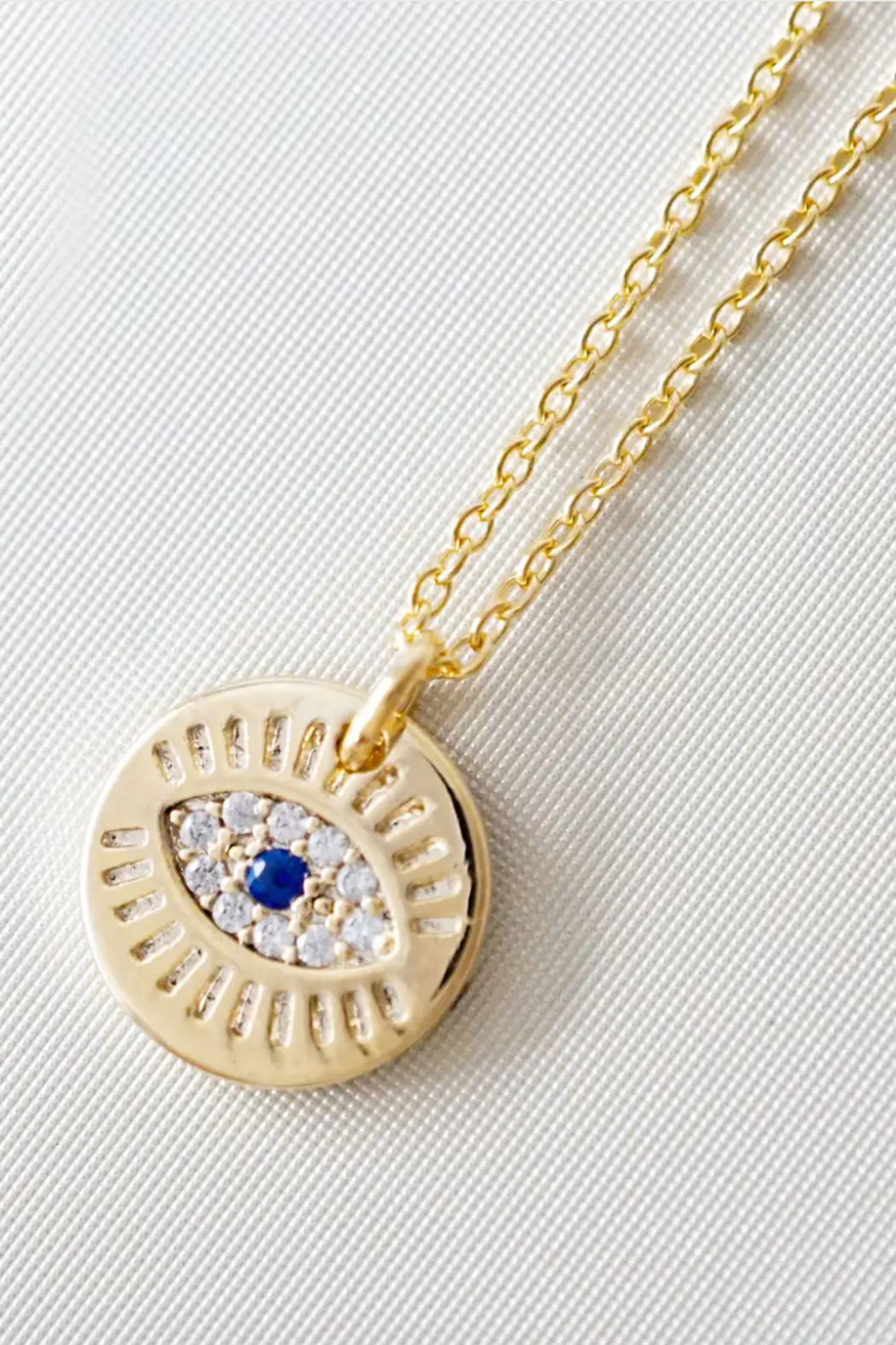 Kindred Row Kindred Evil Eye Pendant - Front Cropped Image