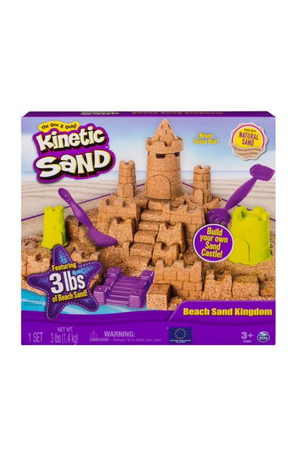Toysmith Kinetic Sand Beach Sand Kingdom - Front Cropped Image