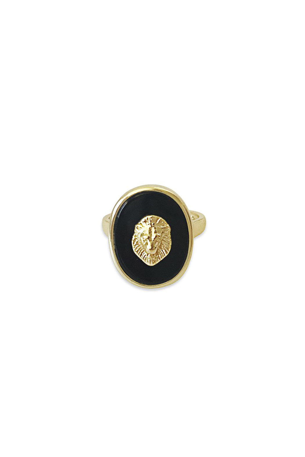 Erin Fader Jewelry King of Beasts Cameo Ring - Main Image